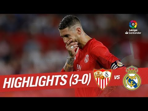 Highlights Sevilla FC vs Real Madrid (3-0)