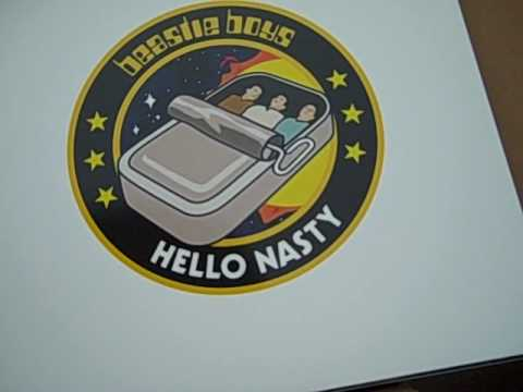 Beastie Boys Hello Nasty Limited Edition Deluxe Unboxing