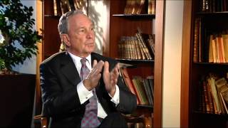 Ozlem interviews Michael Bloomberg!! in Turkey :)