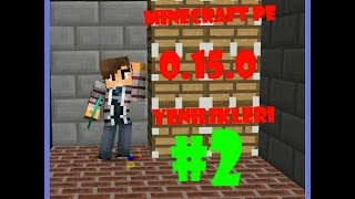 minecraft pe 0.15.0 yenilikler #2 (0.15.0 update news )
