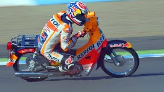 Haha!! FUNNIEST RACE of Marc Marquez vs Dani Pedrosa of MotoGP