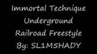 Watch Immortal Technique Underground Railroad Freestyle video