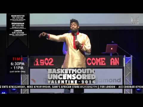 Basketmouth - gift Of Tasting - Basketmouth Uncensored (valentine Special) video