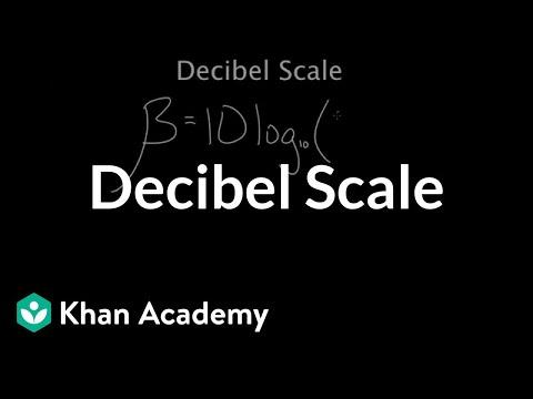 Decibel Scale | Mechanical waves and sound | Physics | Khan Academy