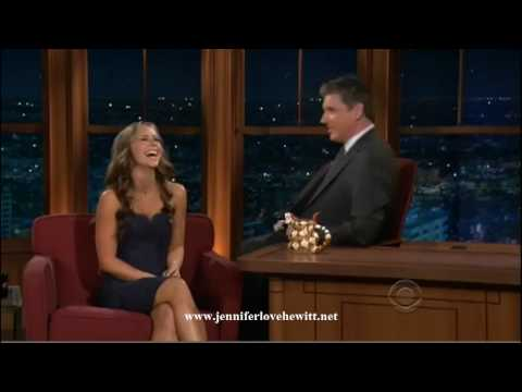 Jennifer Love Hewitt at the Late Late Show with Craig Ferguson 09/23/09