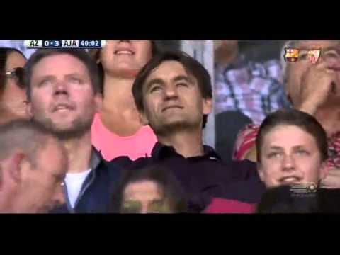 Goal Nemanja Gudelj AZ Alkmaar 0 3 Ajax   09 08 2015