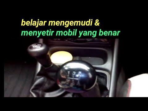 belajar mengemudi mobil manual untuk pemula