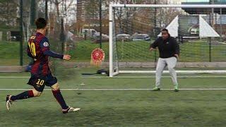 LIONEL MESSI 1 ON 1 SKILL FOOTBALL CHALLENGE!