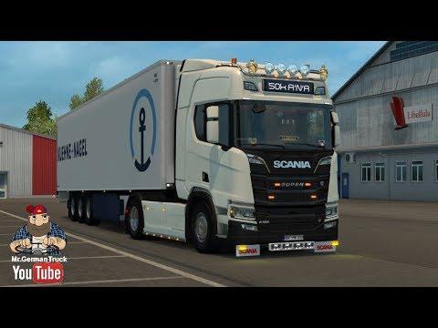 [ETS2 v1.30] Italy DLC *Erkundung von Mailand mit New Scania Gen*