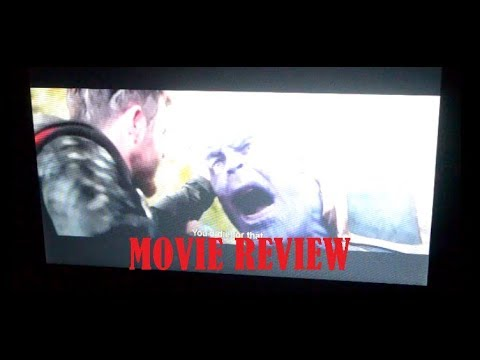 Movie Review! Avengers: Infinity war thoughts and opinions