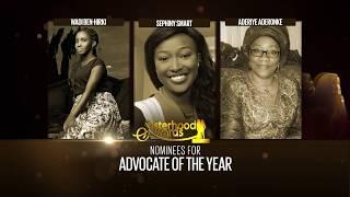 Nominees ADVOCATE OF THE YEAR - Sisterhood Awards 2017