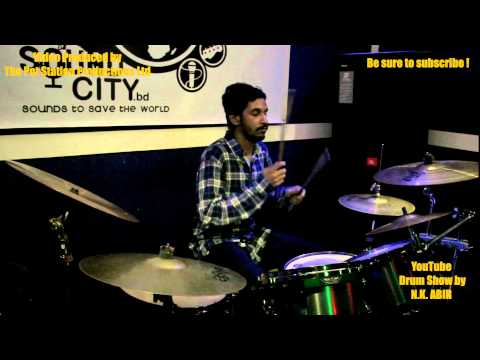Black  Tumi Ki Shara Dibe  Drum Cover  Youtube Drum Show By N.k. Abir video