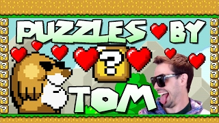 Mario Maker - Thanks, Bowser! Puzzles by Tom (and Tribute Level!)