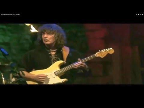 Ritchie Blackmore Electric Guitar Solo 2003