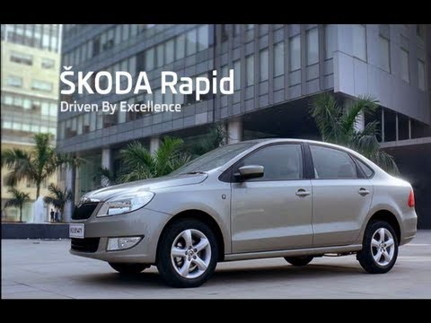 SKODA Rapid Excellence TV Ad
