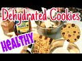 Dehydrator: Apple Raisin Oatmeal Cookies using FOOD STORAGE! Gluten Free