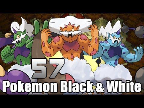 Pokémon Black & White - Episode 57 [Tornadus Thundurus Landorus]