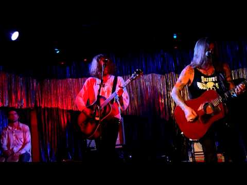 Wino & Conny Ochs - Heavy Kingdom live @ The Satellite, Los Angeles, CA 8/8/12