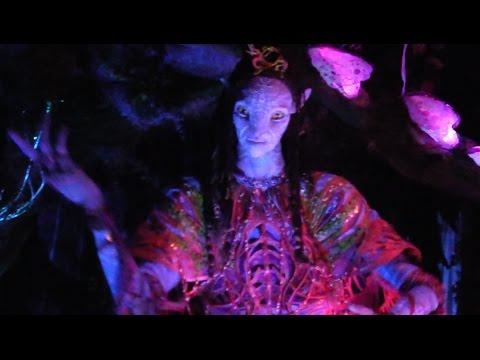 Amazing Shaman animatronic in Na'vi River Journey, Pandora - The World of Avatar, Walt Disney World