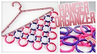 DIY Hanger Wardrobe Organizer! - Do It, Gurl