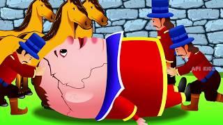 Humpty Dumpty Nursery Rhyme Animation Video | English Nursery Rhymes | Humpty Dumpty Nursery Rhyme