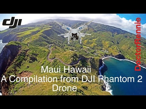 Maui, Hawaii drone travel video