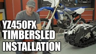 YZ450FX TimberSled Installation