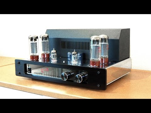 Tube amplifier vs solid state: Dynavox VR-70E II vs Yamaha receiver with Q Acoustics 3020 speakers thumbnail