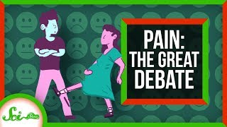 Kicked in the Crotch vs. Childbirth: The Great Debate