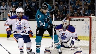 2017 Stanley Cup Playoffs - Round 1 - Oilers/Sharks - All Goals