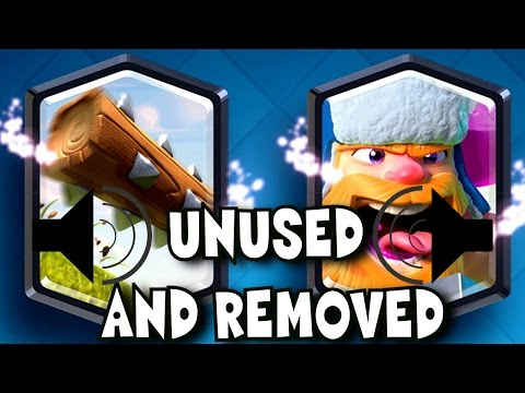 Clash Royale: Unused or Removed sound effects