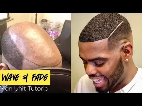 MAN UNIT: BEST MAN UNIT / MAN WEAVE TUTORIAL: Full detailed natural looking wave unit tutorial