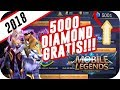 How To get 5000 diamond Mobile Legend for FREE in 5 Minutes!!