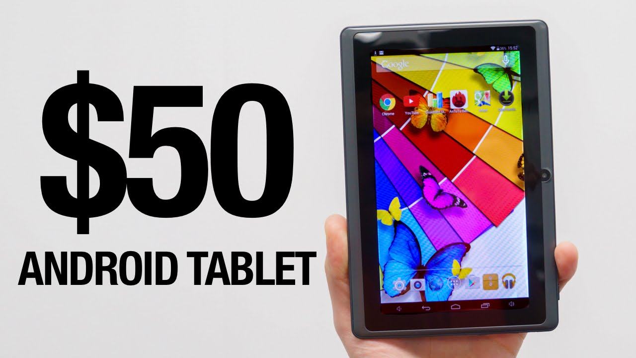 Can a $50 Android Tablet Be Any Good?