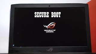 How to Disable/Turn off Secure Boot on ASUS Laptop