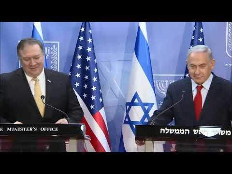 Remarks by PM Netanyahu and US Secretary of State Pompeo