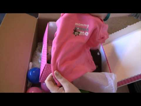 Phoebe is here! Reborn toddler box opening!