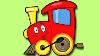 The Little Engine That Could - Cartoon Story for Kids