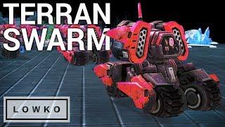 StarCraft 2: SWARMING AS TERRAN?!