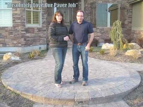 How To Do A Circle Pattern We Love Our Pavers Youtube