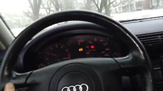 98 Audi A4 00652 solved - Replaced auto trans fluid - ATF