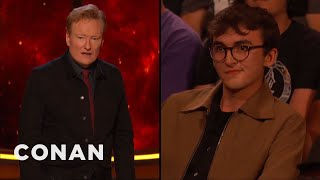 Bran Stark Won't Settle For A Just OK #ConanCon - CONAN on TBS