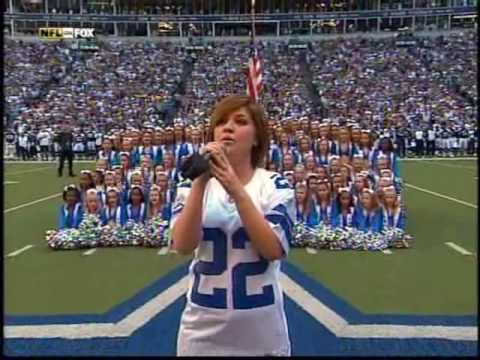 Kelly Clarkson - Star Spangled Banner