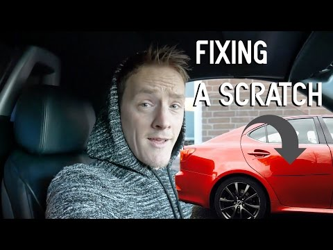 How To Fix A Scratch On Your Car!