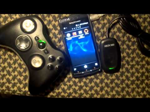 Xbox 360 Games On Android Phone - Ice Cream Sandwich - 360 Controller