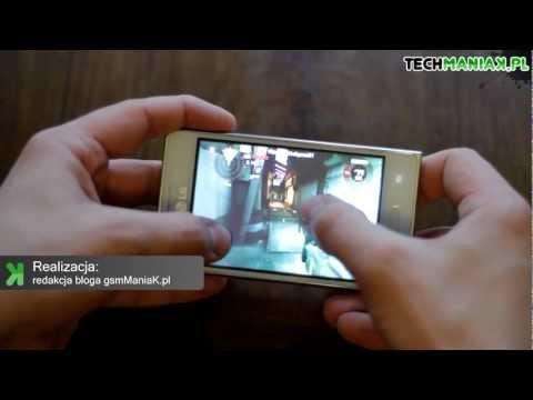 Wideo test i recenzja telefonu LG Swift L5   techManiaK.pl