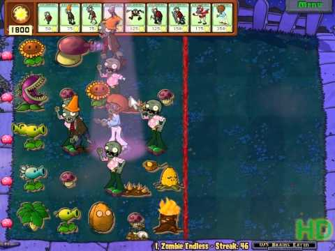 Plants vs Zombies - I,Zombie Endless Streak 41 - 50 Music Videos