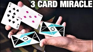 This INCREDIBLE Card Trick With 3 Cards Will CONFUSE Everyone!