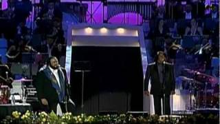 Luciano Pavarotti Video - Luciano Pavarotti and friends & James Brown - It's a man's world - [HD] by Newoaknl