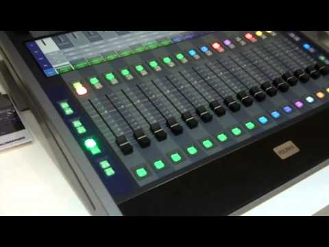 ISE 2016: Salzbrenner Stagetec Mediagroup Highlights Polaris Evolution Mixing Console